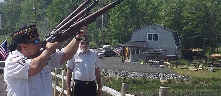 Veterans Salute During Event
