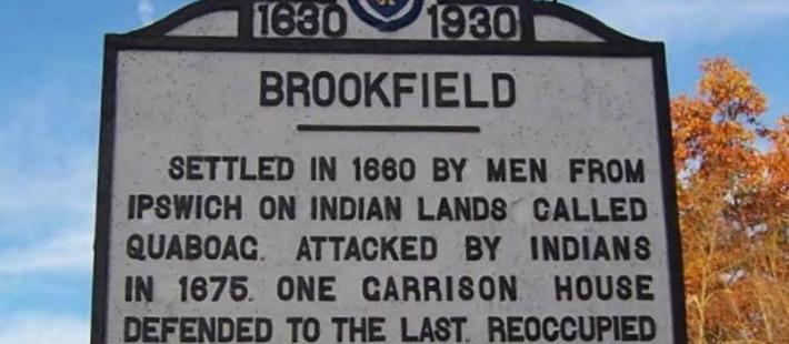 Brookfield Town Sign